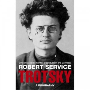 Cover of book 'Trotsky' by Robert Service